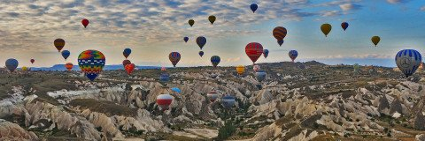 Hot Air Balloon Rides in Cappadocia