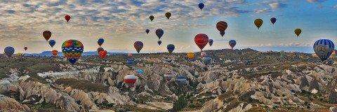 Hot Air Balloon Rides in Cappadocia