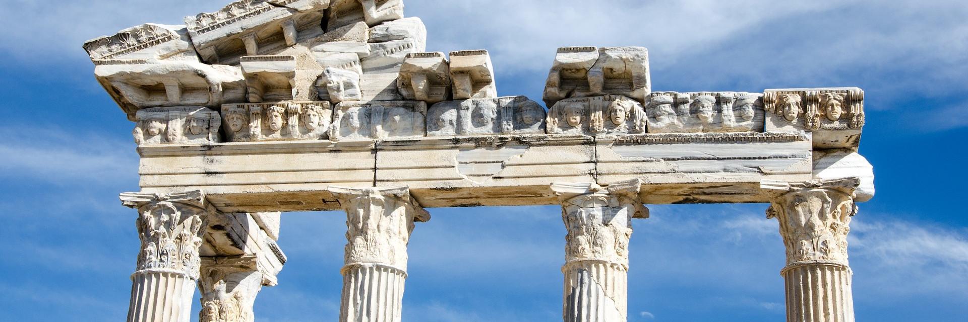 Temple of Apollo, Side